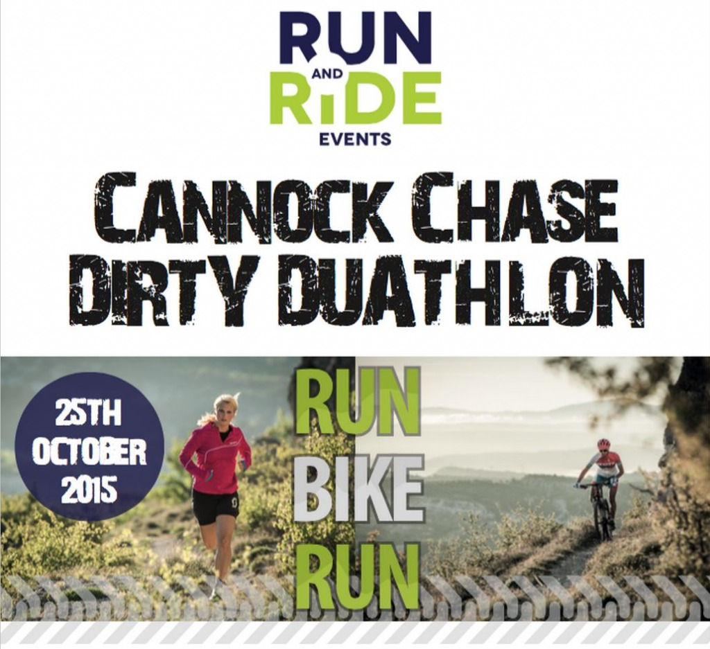 Run and Ride Cannock Chase Dirty Duathlon 2015
