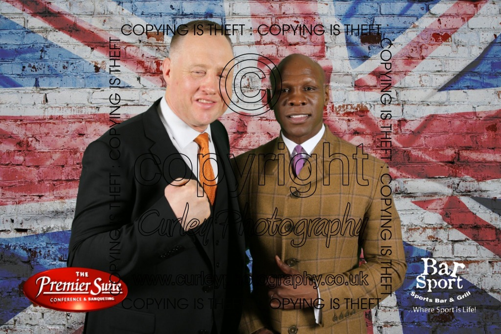 Chris Eubank at The Premier Suite