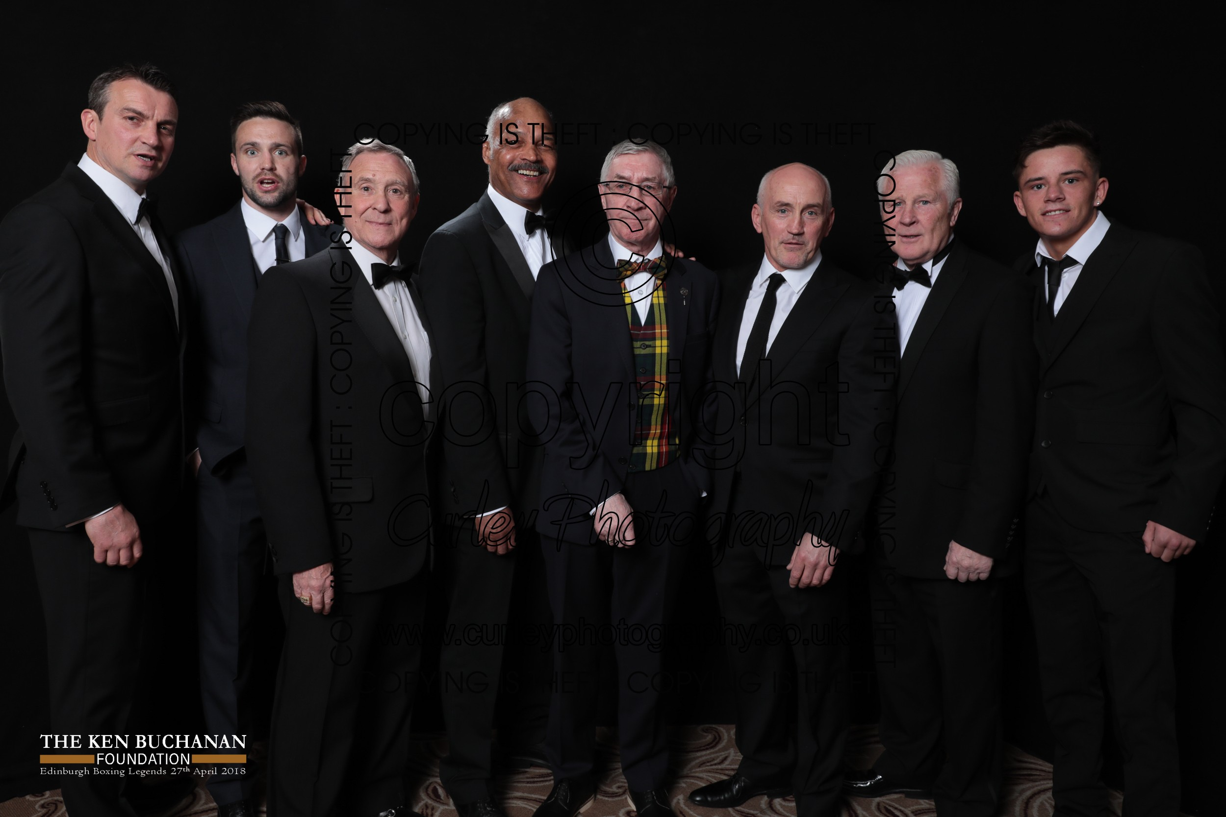 Curley Photography Ken Buchanan Foundation Edinburgh Boxing